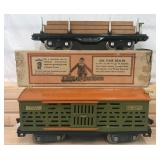 Nice Boxed Lionel 511 & 513 Freight Cars