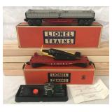 Nice Boxed Lionel 3359 & 6800 Freight Cars