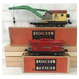 Clean Boxed Lionel 810 & 817 Freight Cars