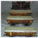 Ives 3240 1 Gauge Passenger Set