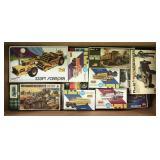 Large Group Vintage Plastic Model Kits