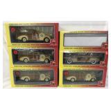 6 Store Stock Motor City 1:18 Vehicles