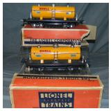 2 Boxed Lionel 2815 Shell Tank Cars