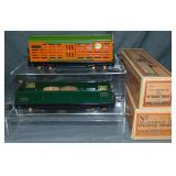 Nice Boxed Lionel 812 & 813 Freight Cars