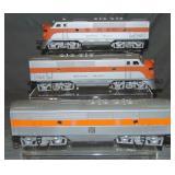 Custom Painted Lionel F3 Diesels