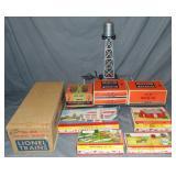 Boxed Lionel & Plasticville Accessories