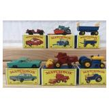 6 Mint Boxed Matchbox Regular Wheels