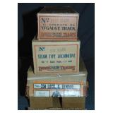 Scarce Empty Boxes & Master for Early Lionel 258