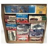 Automotive Model Kits.