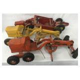 3 Doepke Model Toy Construction Vehicles