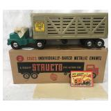 Mint Boxed Structo 960 Cattle Trailer
