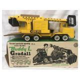 Mint Boxed Buddy L 5703 Gradall