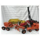 4 Doepke Model Toy Construction Vehicles