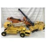 4 Ny-Lint Construction Vehicles