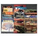 Lot of Lionel Train Catalogs & More