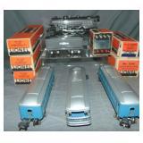 Super Boxed Lionel 224E Passenger Set 178W