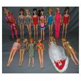 Barbie Lot of (14) Dolls.