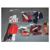 Vintage Ken Outfits and Accessories.