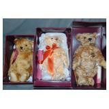 (3) Ltd Ed Steiff Bears, Hamleys Exclusives