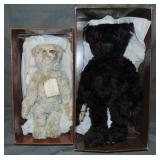 (2) Boxed Steiff British Collector