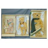 (3) Boxed Limited Edition Steiffs Bears