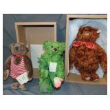 Steiff Bears Limited Edition Lot