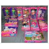 Lot of New in Box Barbie Dolls