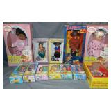 Mixed Lot of Dolls in Original Boxes