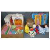Mixed Doll & Toy Lot