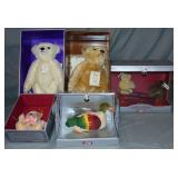Limited Edition Steiff Lot, 5 Pieces