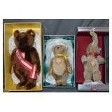 (3) Boxed Steiff Limited Edition Bears
