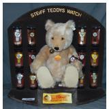 Wonderful Steiff Teddys Watch Store Display