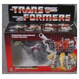 MISB Transformers G1 Dinobot Sludge, 1984