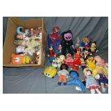 Plush & Character Doll/Figure Lot
