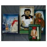 (4) Boxed Steiff Limited Edition Bears