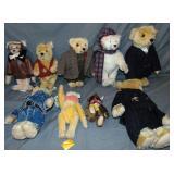 Steiff Teddy Bear Lot of 9