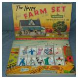Manoil Happy Farm Set. Boxed.
