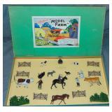 Britains Model Farm Set Boxed.