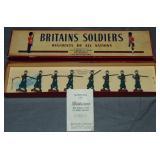 Britains Set #1435. Italian Infantry, Khaki,