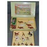 Timpo Ranch Set. Original Box.