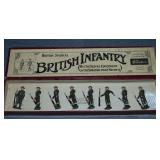 Britains Set #1828 British Infantry at Ease.