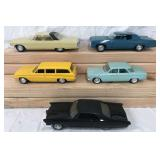 Lot of Five Promo Model Cars.