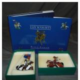 Knights. Lot of Two Boxed and Book.