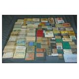 Ticket Lot. 19th-20th Century.
