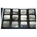 Chicago Illinois. Glass Slide Lot.