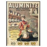 "French Advertising Poster, ""Aluminite"" by Tamagno"