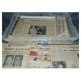 20th Century Newspaper Lot