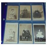 CDV Lot of 28 Images