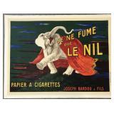 Leonetto Cappiello Poster, Je Ne Fume Que Le Nil