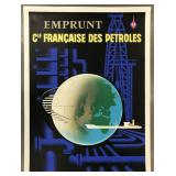 1960 French Oil Advertising Poster by Eric
